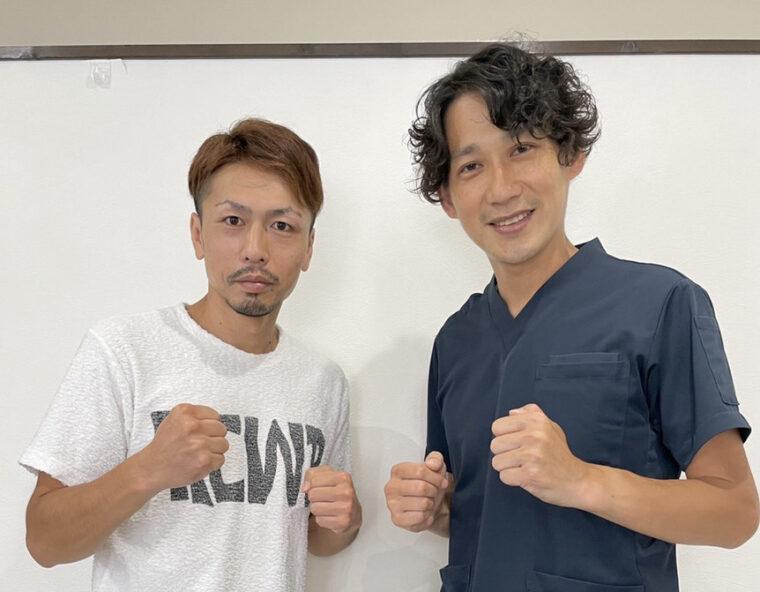 元日本チャンピオンがご来院